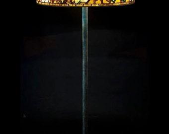 Tiffany Magnolia floor lamp
