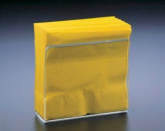 Napkin Holder - BLANK Acrylic Napkin Holder.