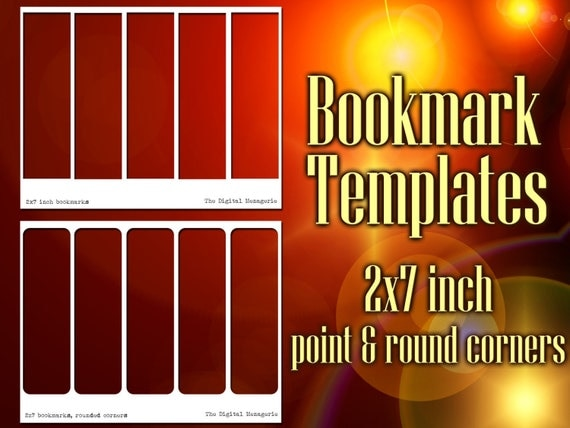 bookmark templates inch a4 sheets png photoshop. Black Bedroom Furniture Sets. Home Design Ideas