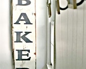 Wooden Bakery Sign, REGULAR WIDTH, Bakery Sign, Bakery Plaque