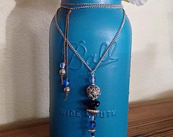 Boho necklace bohemian jewelry