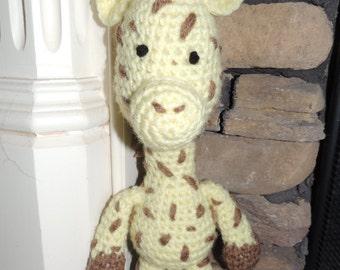 Crochet Giraffe Doll