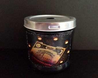 Haunted Halloween Spirit Candle - White