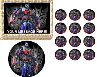 transformers wedding cake toppers edible cake topper transformer etsy 21240