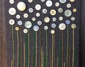 Field of Buttons Wall Piece