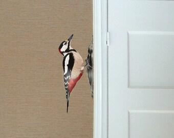 Wall sticker Woodpecker - LEFT