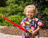 Star Wars Shirt - Button Up Shirt for Boys - Boys Birthday Outfit - Button Up Shirt for Toddlers - Sizes 3 toddler to 8 years
