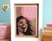 Emotions - Mariah Carey - Retro Romantic Card