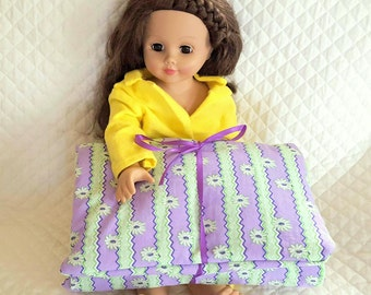 Doll Sleeping Bag, 18 in Doll Bedding, Toys & Games, Doll Accessories, Dolls and Action Figures, Toys