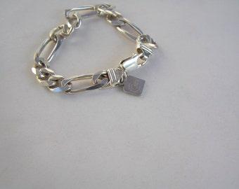 Vintage Italian Sterling Silver Bracelet
