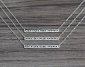 They Fly With Angels Remembrance Necklace - Memory Jewelry