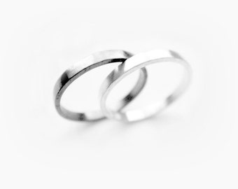 othello - best friend rings/ promise rings / best friend gift /promise ring set/ couple jewelry/ couples rings/ matching promise rings