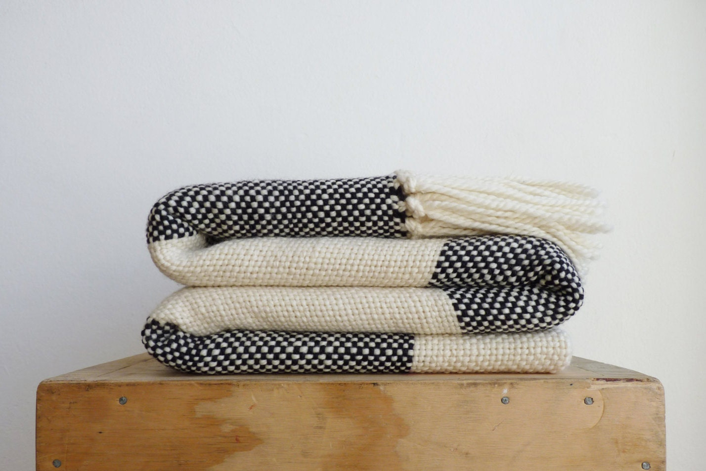 plaid wool throw blanket checkerboard merino wool sofa. Black Bedroom Furniture Sets. Home Design Ideas