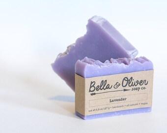 Lavender Vegan Soap
