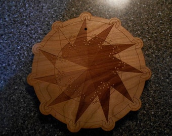 Geometric Themed Trivets (Set of 4)