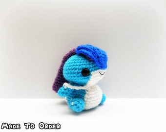 Crochet Suicune Inspired Chibi Pokemon