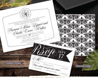 Vinyl record wedding invitation rsvp by valeshkaartanddesign for Etsy vinyl wedding invitations