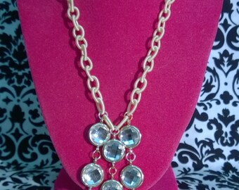 Crystal Dangle Necklace