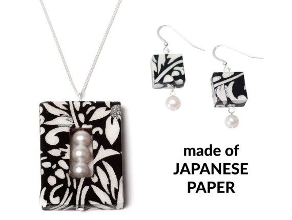 1 Year Anniversary Gifts For Her Paper : One Year Anniversary For Her / Paper Jewelry