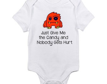 Funny Halloween Shirt,  Kids Tees, Baby Shirt, Infant Clothing, Toddler Tshirt, Funny Monster Shirt, Girls Shirt, Boys Shirt