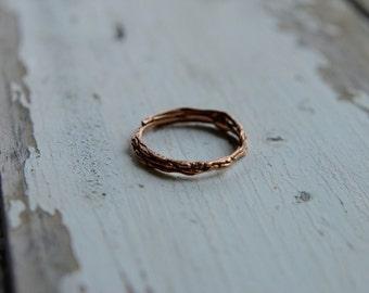 Doodle ring / / jewelry designer / / rose gold / / unique / / engagement / / wedding / / handmade
