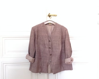 SALE Vintage Purple Jacket