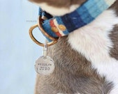 No.20 // Custom Metal Dog Tag // Handstamped Pet Tag // Hello, I'm // Engraved Dog Tag