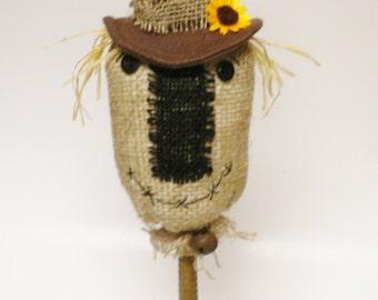 Primitive Scarecrow, Halloween Decor, Country Farmhouse Fall Decor