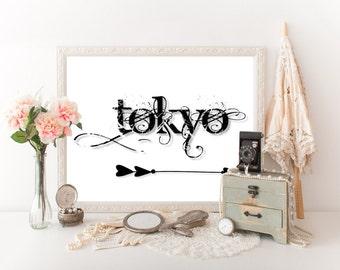 Tokyo Decor, Tokyo Travel Poster,Tokyo Print, Tokyo Art, Tokyo Download, Tokyo Poster, Tokyo Wall Art, Tokyo Decor, Tokyo Printable 0324