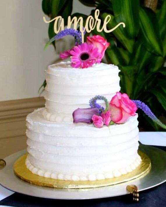 Amore Cake Topper, Wedding Cake Topper, Cake Topper For Wedding, DIY Cake Topper, DIY Wedding, Amore Wedding, Travel Theme Wedding, Amore
