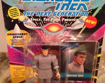 Spock Figurine Vintage from Star Trek