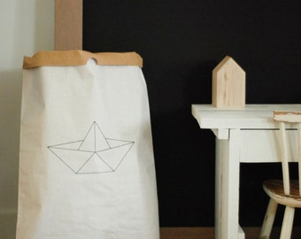 Paperbag XXL 'Black and white'