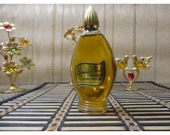 Evening in Paris Bourjois Bubble Bath Oil 30ml. Perfumed oil Vintage