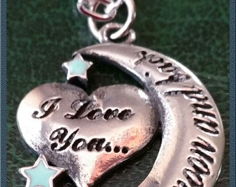 I Love You to the Moon & Back Neklace