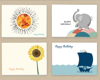 Birthday Cards (24 cards and envelopes)