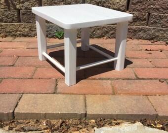 White Pine Footstool- Handmade