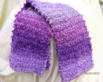 Shades of Purple Scarf