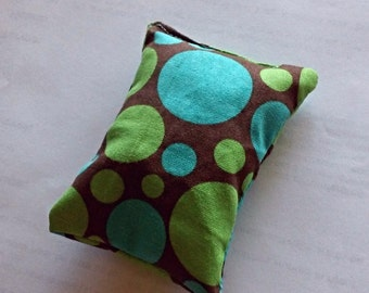 boo boo buddy with rice and essential oils, heatable rice bag
