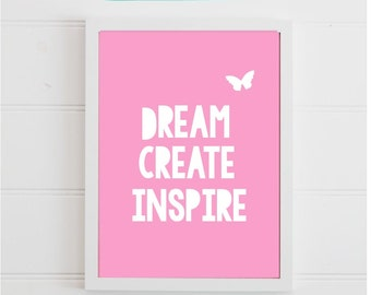 Digital Download, Dream Create Inspire