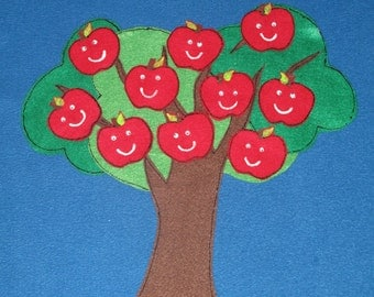 Apples in A Tree Counting 1-10