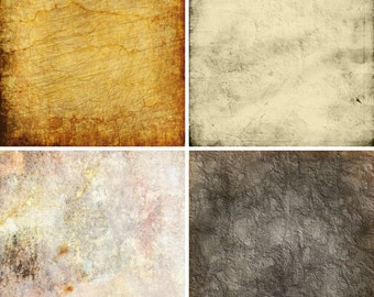 FOUR 2' x 2' Vintage Textures Floordrops / Vinyl Photography Backdrops for Product Photos Fl63