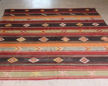 Unique Aztec Rug Related Items Etsy