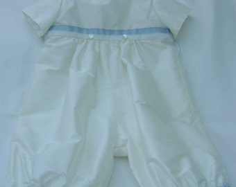 "A Delightful Little Boys Christening Suit - ""Todd"""