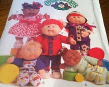 Cabbage Patch doll clothes pattern B5264 Butterick