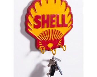 Royal Dutch Shell petrol hook and key rack
