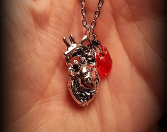 Anatomically Correct Heart Pendant