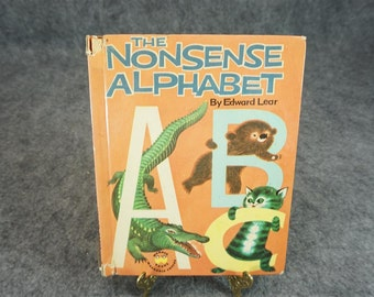 The Nonsense Alphabet by Edward Lear
