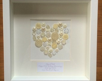 Pearl 30th Anniversary Gift Frame