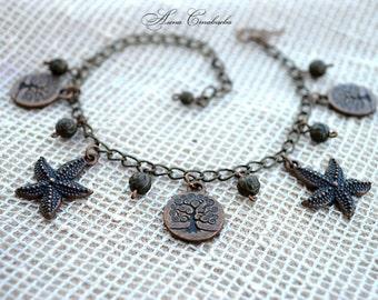 Beauty giftadjustable bracelet, charm bracelet, Chain & Link Bracelets, Bracelet, chain, beach girl bracelet, friendship bracelet