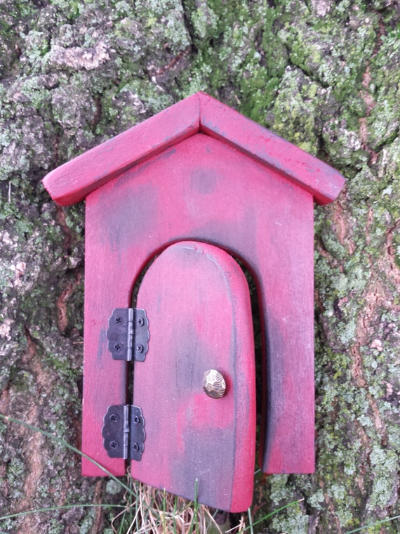 Fairy door fairy garden kit fairy garden accessories for Elf door accessories